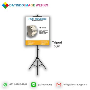 Tripod Sign