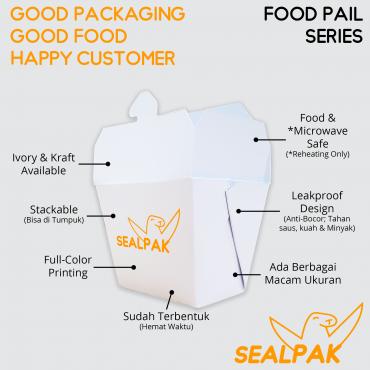 Food Pail Fitur