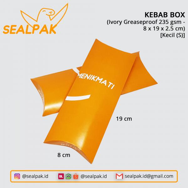 Kebab Box 8-19-2.5 (Kecil-S)