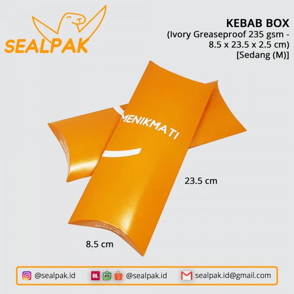 Kebab Box 8.5-23.5-2.5 (Sedang-M)